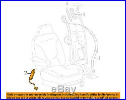 FORD OEM Front Seat Belt-Buckle Left 7L1Z7861203AA