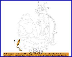 FORD OEM Front Seat Belt-Buckle Left 7L1Z7861203AB