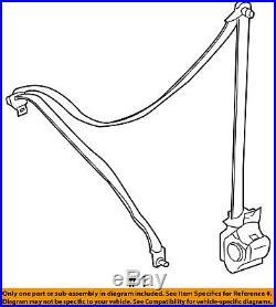 FORD OEM Front Seat Belt Buckle-Retractor Assy Left 8L8Z78611B09AF