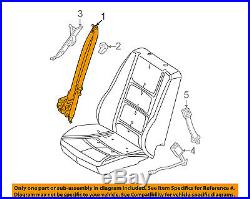 FORD OEM Front Seat Belt Buckle-Retractor Assy Left AE5Z54611B09AA