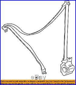 FORD OEM Front Seat Belt Buckle-Retractor Assy Left AL8Z78611B09AA