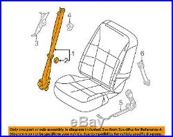 FORD OEM Front Seat Belt Buckle-Retractor Assy Left DT4Z78611B09AC