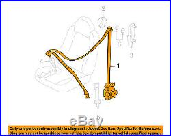 FORD OEM Front Seat Belt Buckle-Retractor Assy Right 8L8Z78611B08AF