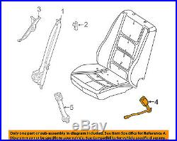 FORD OEM Front Seat Belt-Buckle Right DA8Z7461202AA