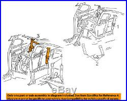 FORD OEM Mustang Rear Seat Belt-Buckle Retractor Assembly Left XR3Z63611B69AAB