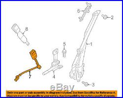 FORD OEM Police Interceptor Sedan Front Seat Belt-Buckle Left DG1Z5461203BA