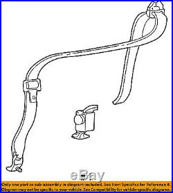 FORD OEM Rear Seat Belt-Buckle Retractor Assembly Right F81Z28611B68AAA
