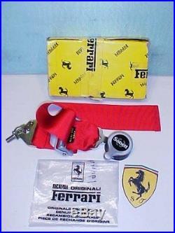 Ferrari 360 Seat Belt Release Buckle Challenge Sabelt 199445 NEW Ferrari Box RT