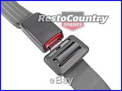 Ford FRONT Inertia BENCH Seat Belt PAIR Grey WEBB Buckle XA XB XC Aus Made ADR