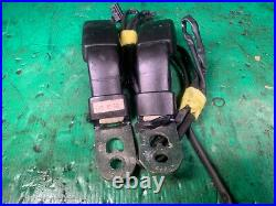 Front Black Seat Belt Buckle Set 93-95 LHD RHD Mazda RX7 FD3S