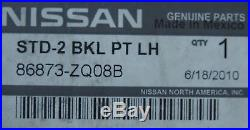 Front LEFT Side Seat Belt Buckle OEM fits 2004-2010 Infiniti QX56 Nissan Armada