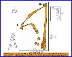 Front Seat Belt Buckle-Retractor Assy Left 11786013853D53