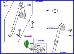 GENUINE LAND ROVER SEAT BELT BUCKLE OUTER 2nd ROW LR3 LR4 RH LR009291 NEW
