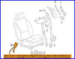 GM OEM Front Seat Belt-Buckle 19207941