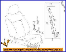 GM OEM Front Seat Belt-Buckle 19299035