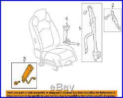 GM OEM Front Seat Belt-Buckle End 19181943