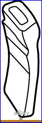 GM OEM Front Seat Belt-Buckle End 88957874