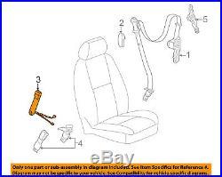 GM OEM Front Seat Belt-Buckle End Left 19121537