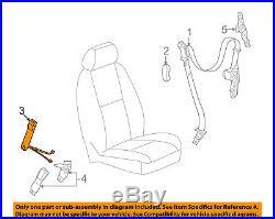 GM OEM Front Seat Belt-Buckle End Left 19121540