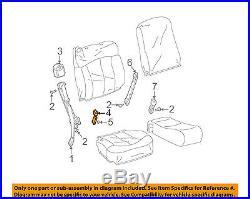 GM OEM Front Seat Belt-Buckle End Left 88937374