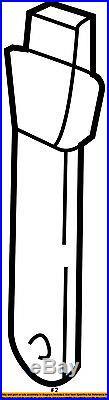 GM OEM Front Seat Belt-Buckle Left 12457479