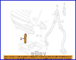 GM OEM Front Seat Belt-Buckle Left 12457480