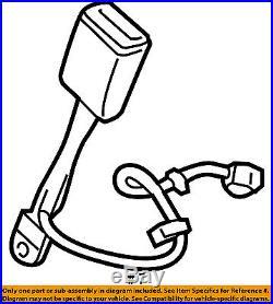 GM OEM Front Seat Belt-Buckle Left 19332429