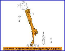 GM OEM Front Seat-Belt & Buckle Retractor 19121716