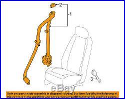 GM OEM Front Seat Belt Buckle-Retractor Assy Left 19169214