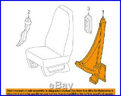 GM OEM Front Seat Belt Buckle-Retractor Assy Right 15589812
