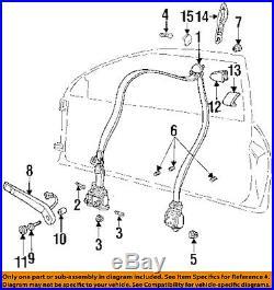 GM OEM Front Seat-Belt & Buckle Retractor Left 12515586