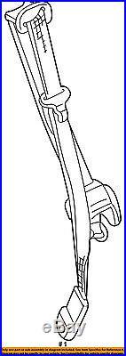 GM OEM Front Seat-Belt & Buckle Retractor Left 19121705