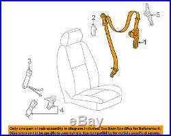 GM OEM Front Seat-Belt & Buckle Retractor Left 19256128