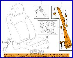 GM OEM Front Seat-Belt & Buckle Retractor Left 19256883