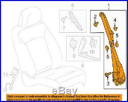 GM OEM Front Seat-Belt & Buckle Retractor Left 19257946