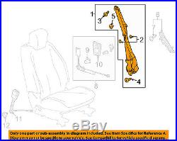 GM OEM Front Seat-Belt & Buckle Retractor Left 19259259