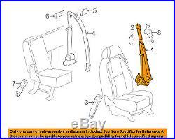 GM OEM Front Seat-Belt & Buckle Retractor Left 19260210