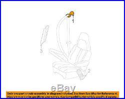 GM OEM Front Seat-Belt & Buckle Retractor Left 19260277