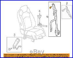 GM OEM Front Seat-Belt & Buckle Retractor Left 19301108