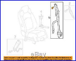 GM OEM Front Seat-Belt & Buckle Retractor Left 19301109