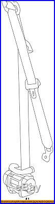 GM OEM Front Seat-Belt & Buckle Retractor Left 19330298