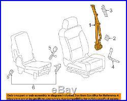 GM OEM Front Seat-Belt & Buckle Retractor Left 19330322