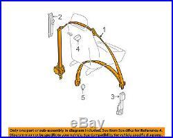 GM OEM Front Seat-Belt & Buckle Retractor Left 96866944
