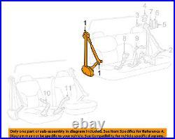 GM OEM Front Seat-Belt & Buckle Retractor Right 12377466