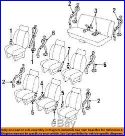 GM OEM Front Seat-Belt & Buckle Retractor Right 12510648