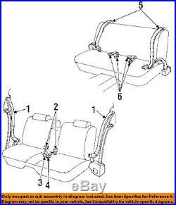 GM OEM Front Seat-Belt & Buckle Retractor Right 12532018