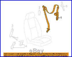 GM OEM Front Seat-Belt & Buckle Retractor Right 19181036