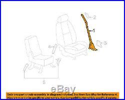 GM OEM Front Seat-Belt & Buckle Retractor Right 19256092