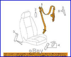 GM OEM Front Seat-Belt & Buckle Retractor Right 19256148