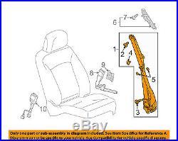 GM OEM Front Seat-Belt & Buckle Retractor Right 19256880